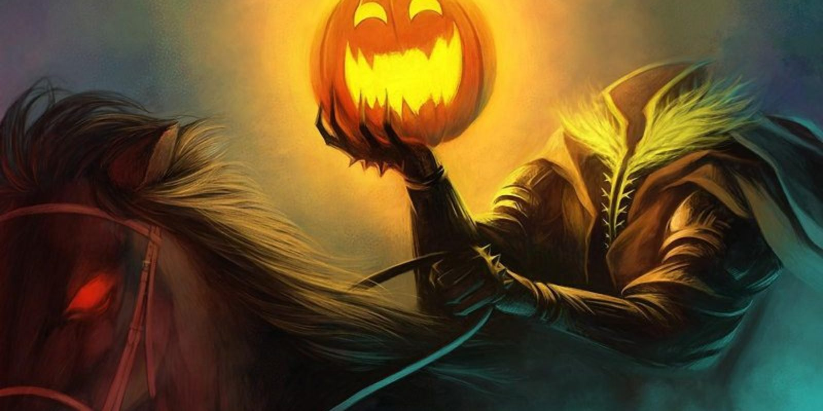 Halloween-holiday-headless-horseman-pumpkin-horse-4k-800x600
